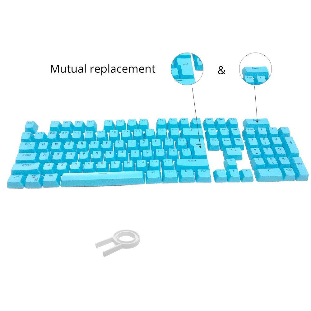 Mua Bossi 104 Keys PBT Doubleshot Injection Keycaps Backlight ...