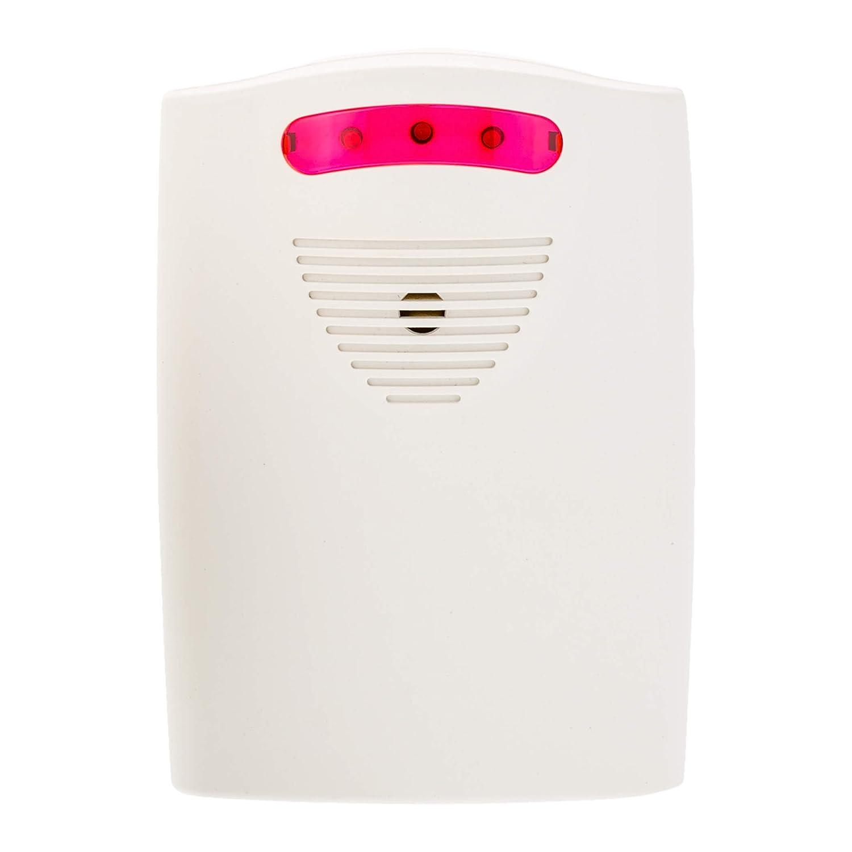 Alimentado por Bater/ía o con Fuente de Alimentaci/ón o Detector de paso SEBSON Alarma Sensor Movimiento 81dB 105dB Alarma de Seguridad