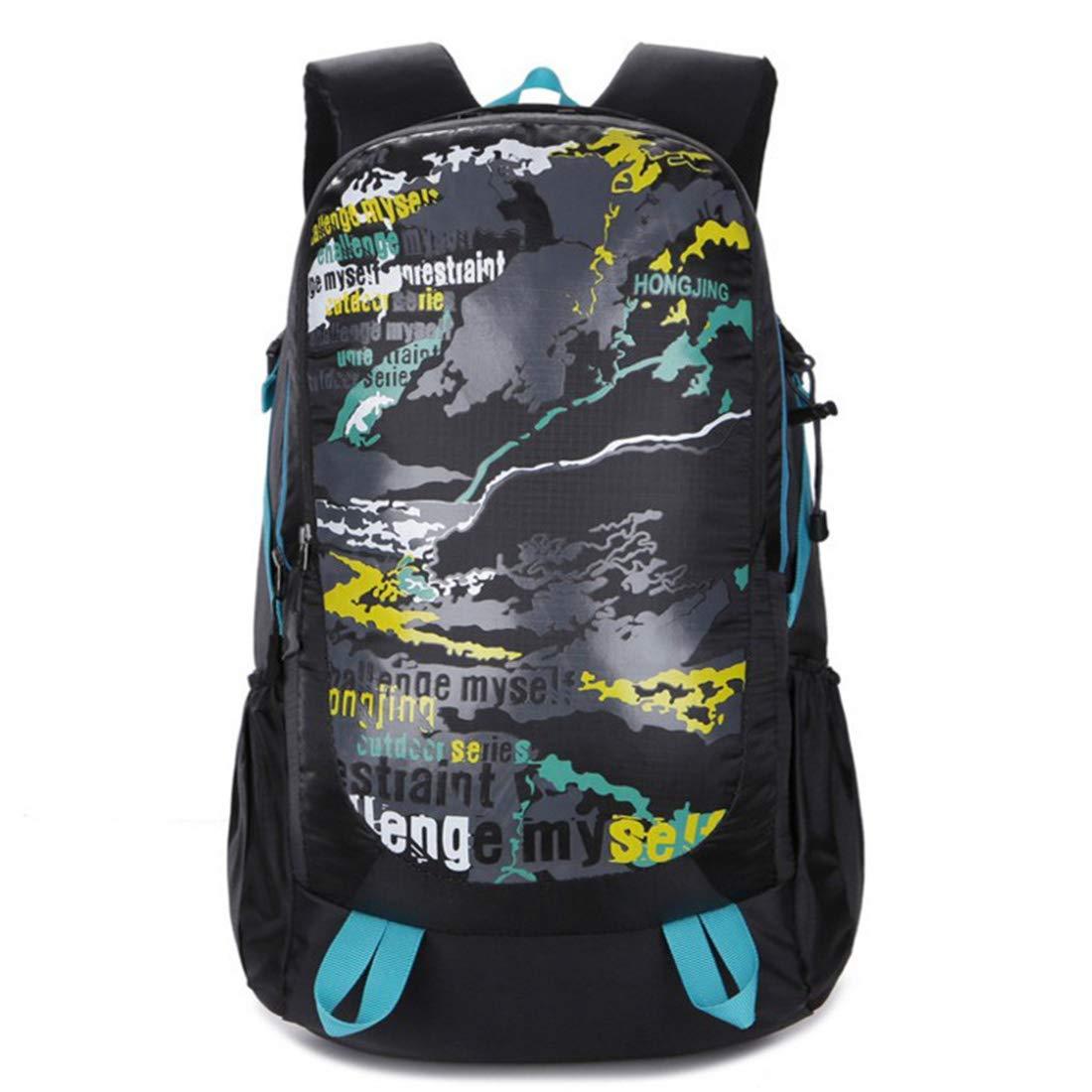 bluee MAGAI Outdoor Sports Waterproof Double Shoulder Mountaineering Bag (color   bluee)