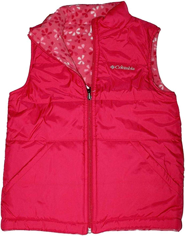 Columbia youth girls Ice Chips II Reversible Fleece Puffer Vest