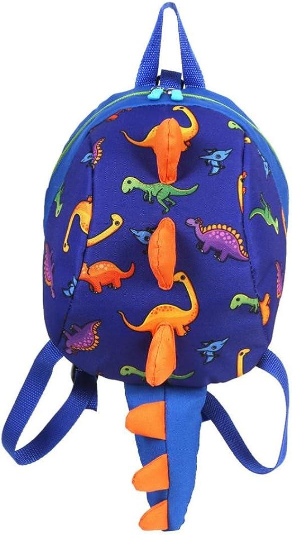 Transer Dinosaur School Backpack Bag Student Bags Bookbags for Baby Toddler Kids Kindergaten