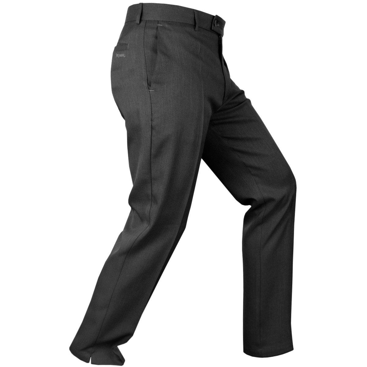 StrombergメンズハロゲイトクラシックTaperedゴルフパンツ – US 32 – 29 – ブラック   B01EAQSN5S