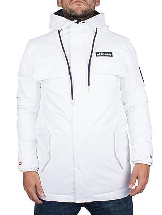 ellesse Herren Dolomiten Logo Jacke, Weiß, X-Large  Amazon.de ... 90fe56f9c8