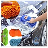 Generic ZM1 Wash and Dry 2-in-1 Multipurpose Microfibre High Performance Cleaning Sponge, 1 Pieces