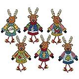 Design Works Ugly Sweater Deer Plastic Canvas Kit