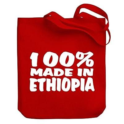 Teeburon 100 Made in Ethiopia Canvas Tote Bag