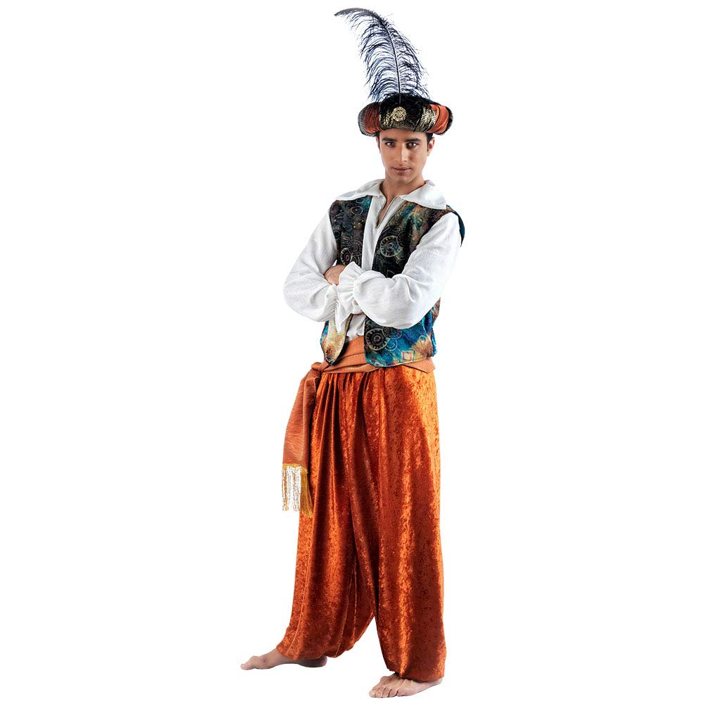 Limit Sport - Disfraz de tuareg Aladín para adultos, talla M ...