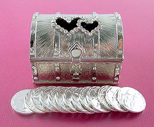 Double Heart Treasure Silver Wedding