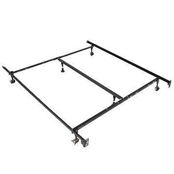 metal bed frame adjustable queen full twin size - Twin Size Metal Bed Frame