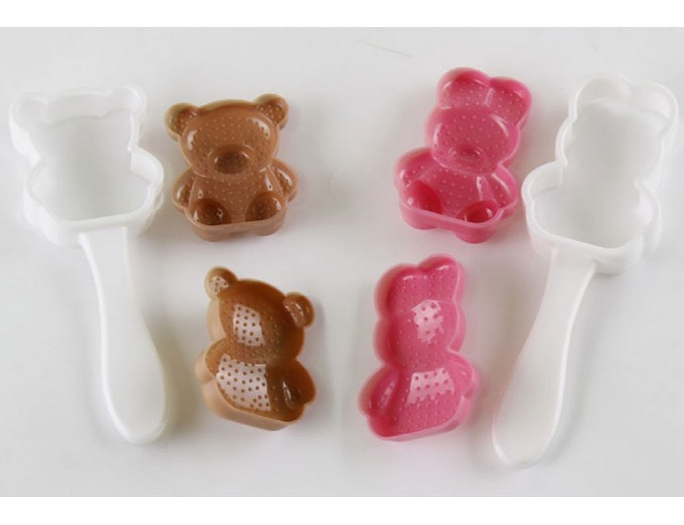 cartoon taglia unica Millya a forma di coniglio orso sushi Maker stampo palla di riso onigiri stampo 3D Benta lunch making Accessories