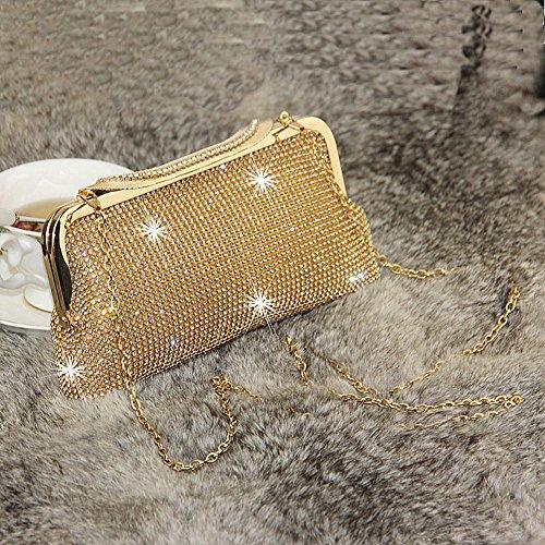 femme Doré Evening Bag pour SSMK Pochette q8zaw4I