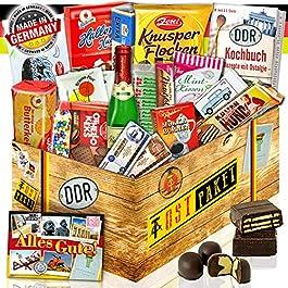 DDR Süssigkeiten Box mit 16 Ostprodukten im Geschenk-Set