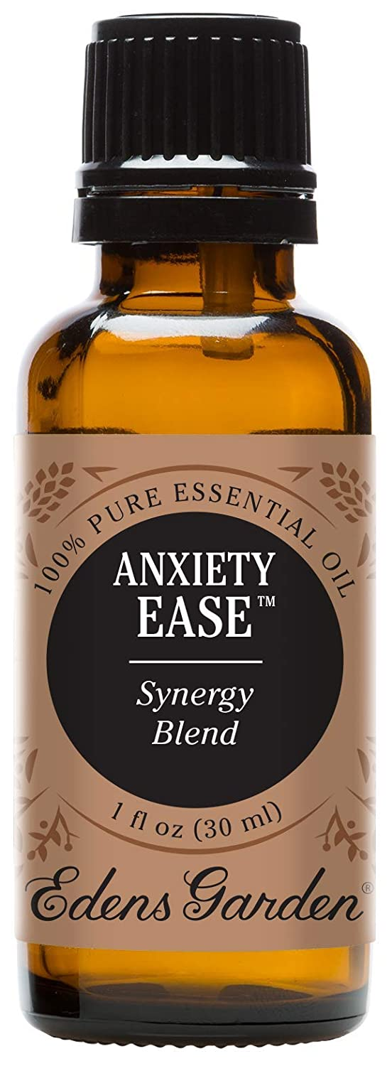 Edens Garden Anxiety Ease Essential Oil Synergy Blend, 100% Pure Therapeutic Grade (Highest Quality Aromatherapy Oils- Anxiety & Stress), 30 ml