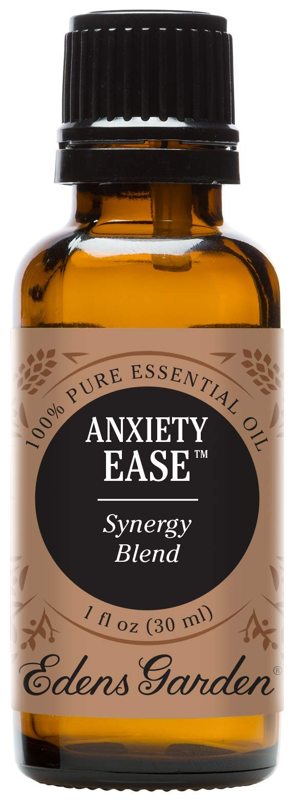 Edens Garden Anxiety Ease Essential Oil Synergy Blend, 100% Pure Therapeutic Grade (Highest Quality Aromatherapy Oils- Anxiety & Stress), 30 ml by Edens Garden