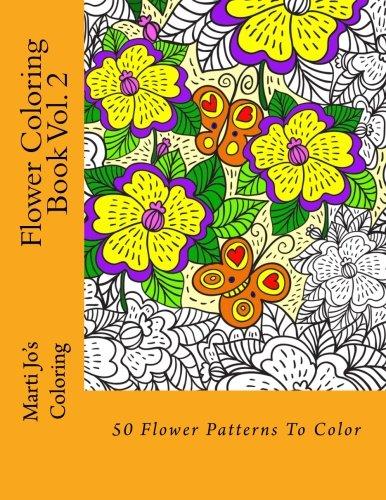 Flower Coloring Book Vol. 2