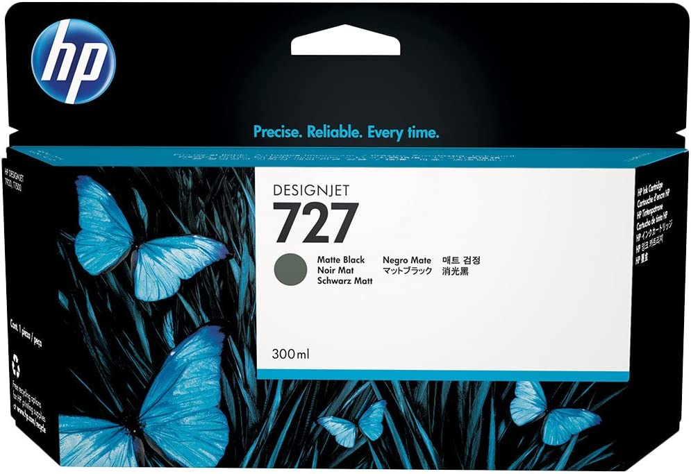 HP 727 (C1Q12A) Ink Cartridge - Matte Black