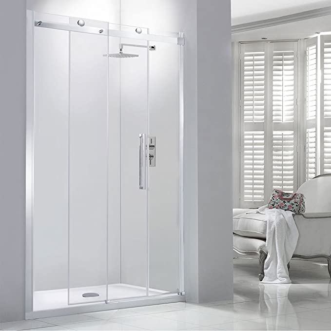 8 mm sin marco deslizante para mampara de ducha de 1100 mm ...