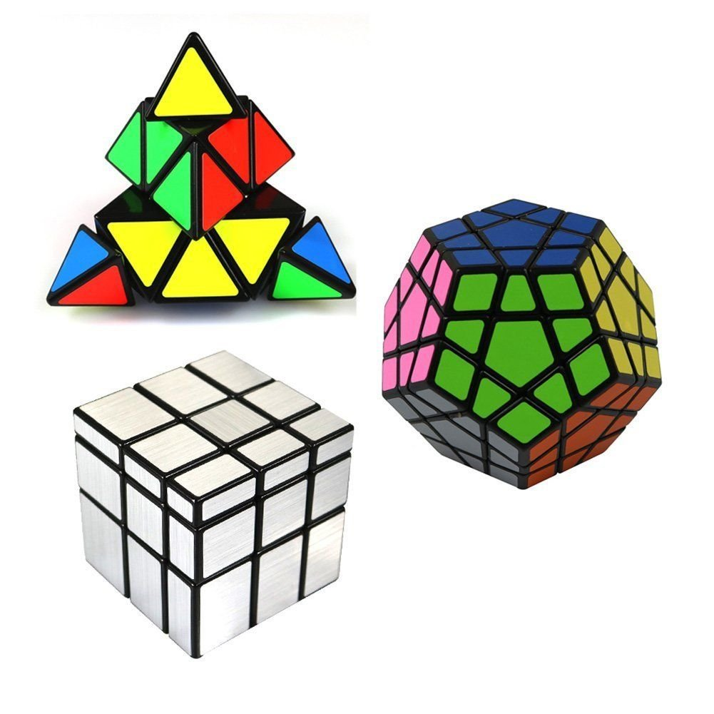 MASCARELLO Apple Fruit Magic Speed Cube 3x3 Puzzle Solid Durable Stickerless Frosted Novelty Toy for Christmas Thanksgiving Children Kid Boy Girl 6 7 8 9 10 11 12 Years Old Gift Apple