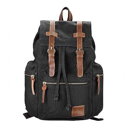 Travel Canvas Sport Rucksack Camping School Backpack Satchel Laptop Hiking Bag