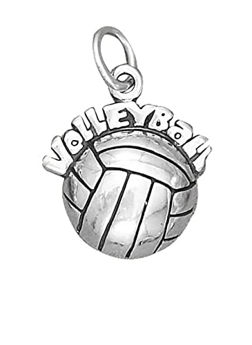 Amazon Com Sterling Silver Girls 16 8mm Hollow Backvolleyball