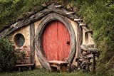 Wallmonkeys Hobbit Hole Peel and Stick Wall Decals WM167642 (18 in W x 12 in H)