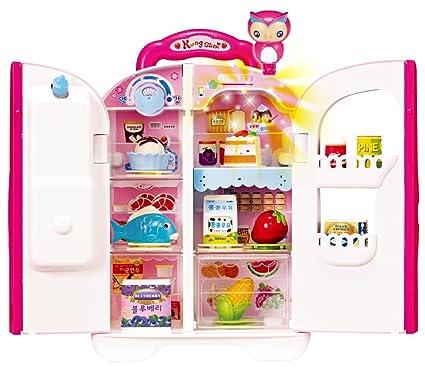 Amazon Com Kongsuni Series Talking Toy Fridge For Kids Toy