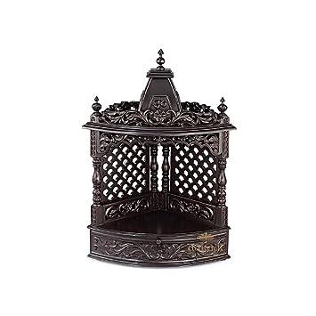 Aakaar Idols Temples Wooden Temple Premium Collection