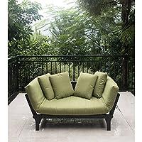 Better Homes & Gardens Delahey Studio Day Sofa w/ Cushions