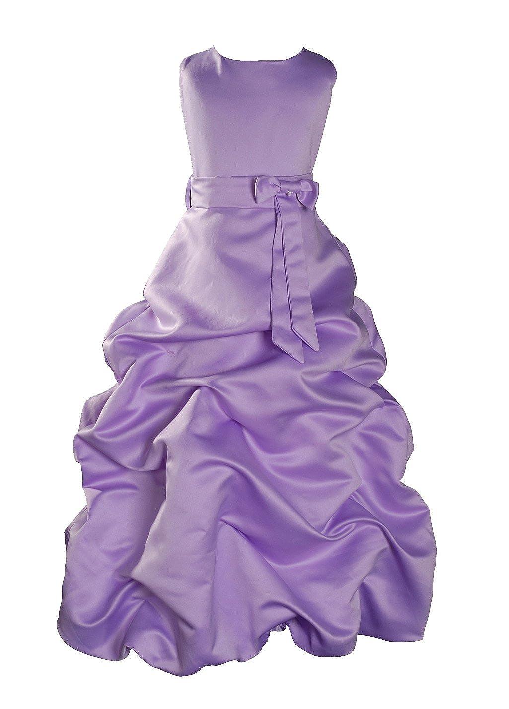 violets 7-8 Ans Robe demoiselle d'honneur