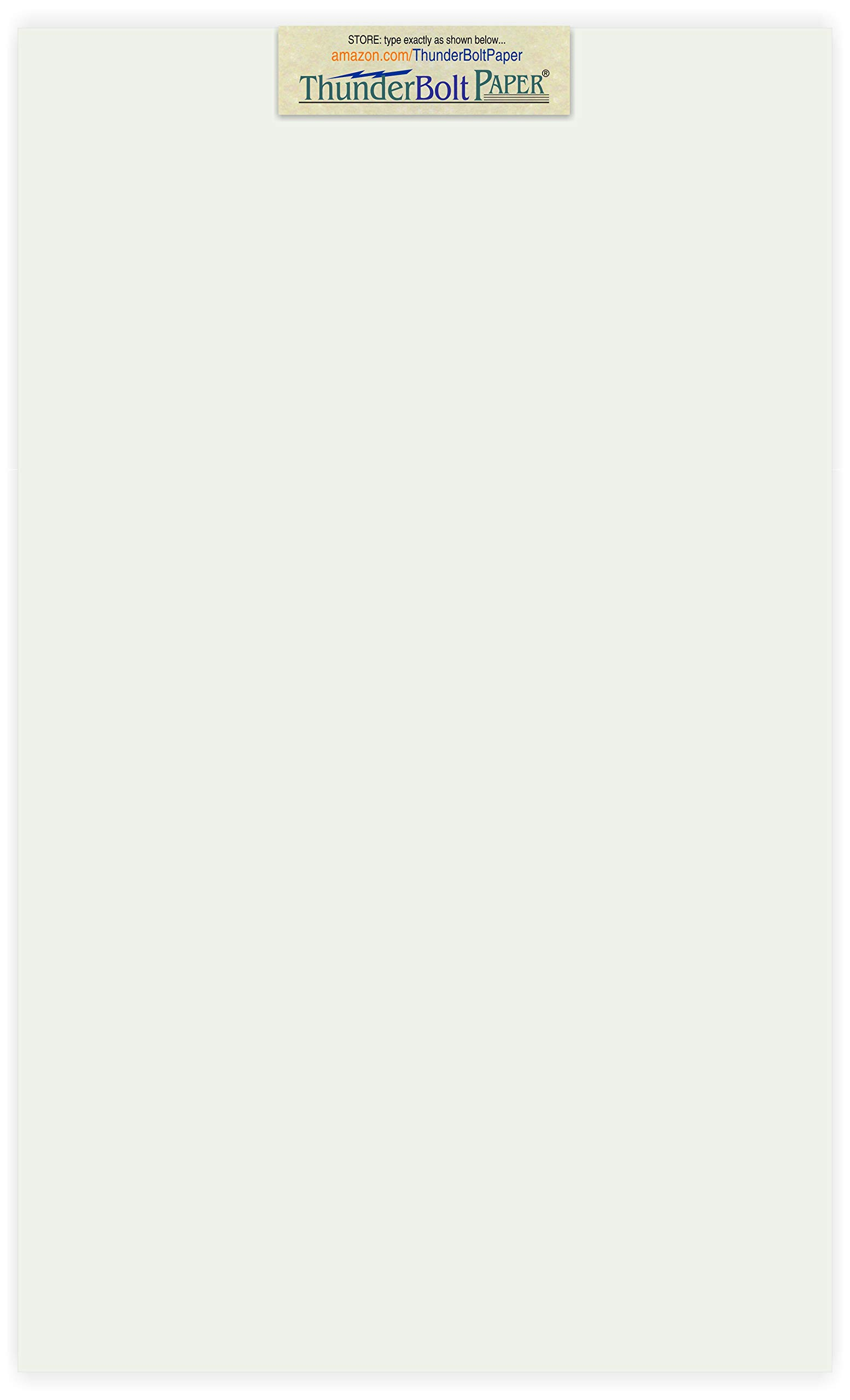 50 Off-White Translucent 17# Thin Sheets - 8.5 X 14 Inches Legal|Menu Size - 17 lb/pound Light Weight Fine Quality Paper - Tracing, Fun or Formal Use - Light Gray, Not a Clear Transparent