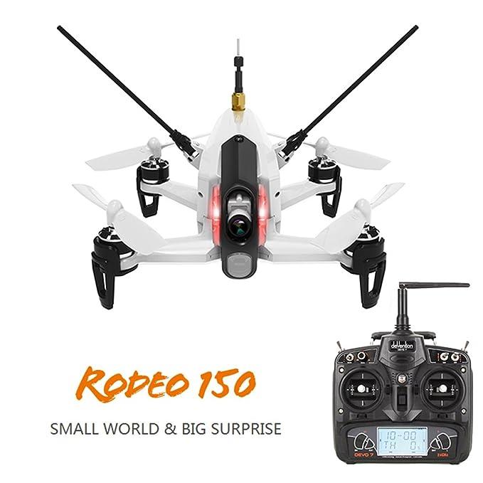WALKERA RODEO 150 DRONE FPV + RTF + CAMERA + QUADCOPTER + DEVO7 ...