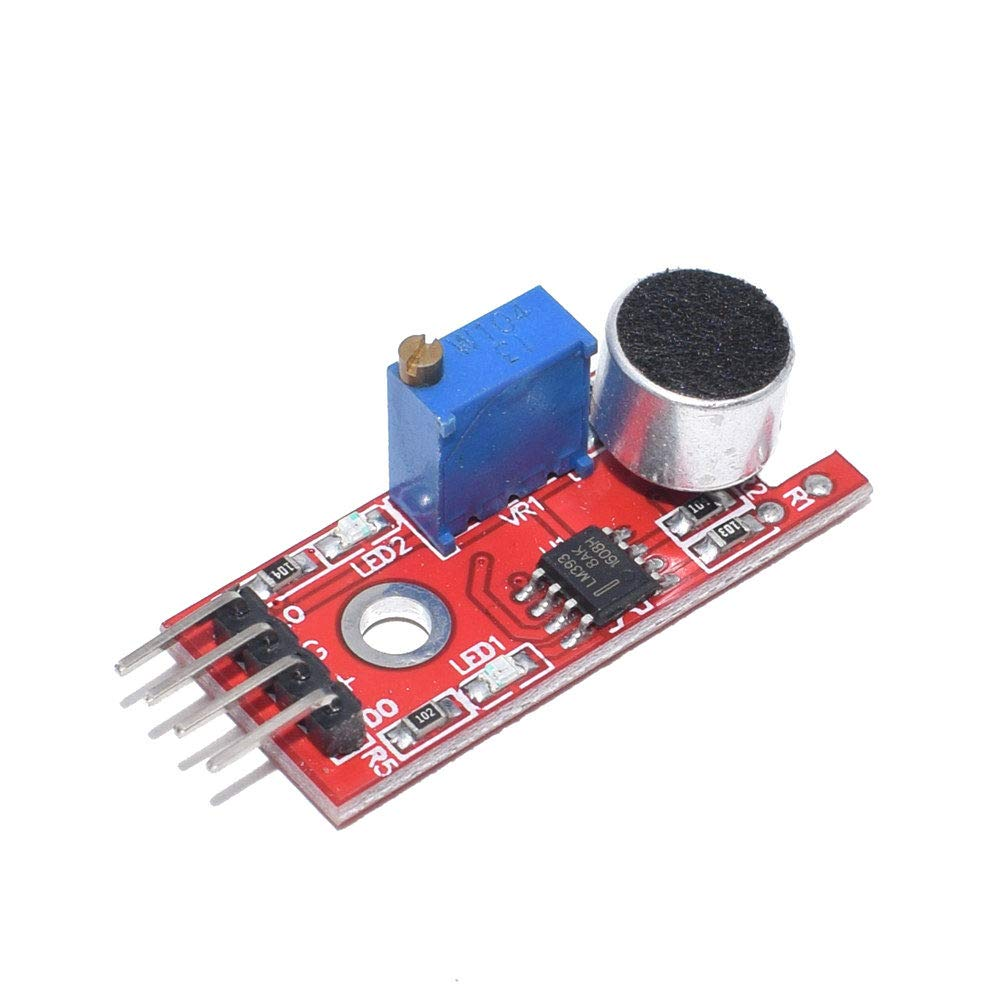 uxcell Microphone Sound Sensor Voice Detection Module with DO for Arduino AVR PIC 5pcs