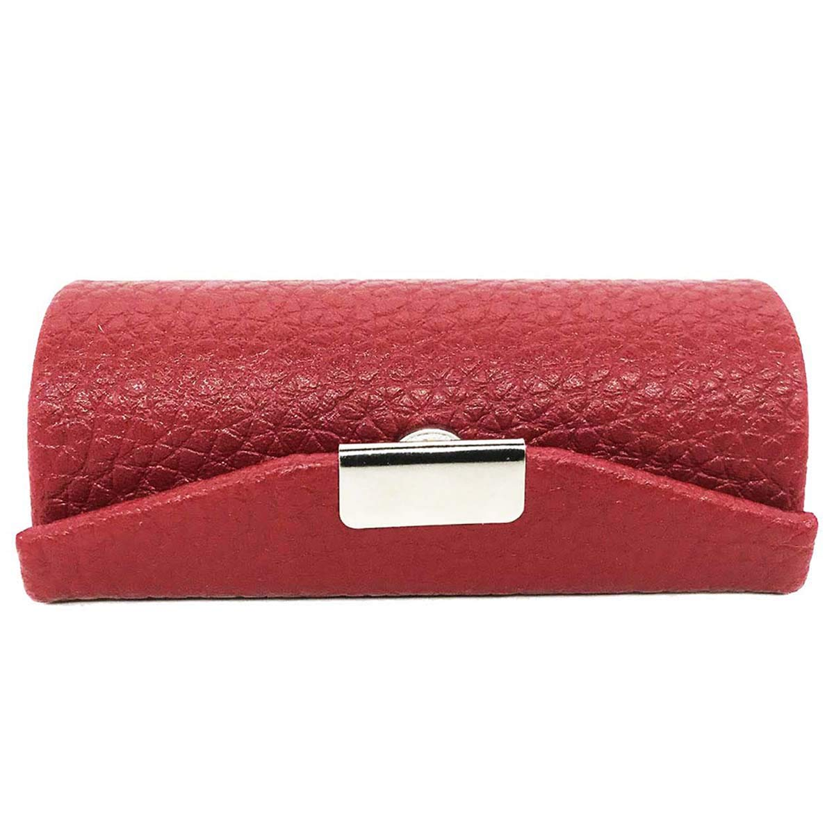 Leather Small Lipstick Case Holder with Mirror Organizer Bag for Purse Lipstick Holder,Cosmetic Storages for...