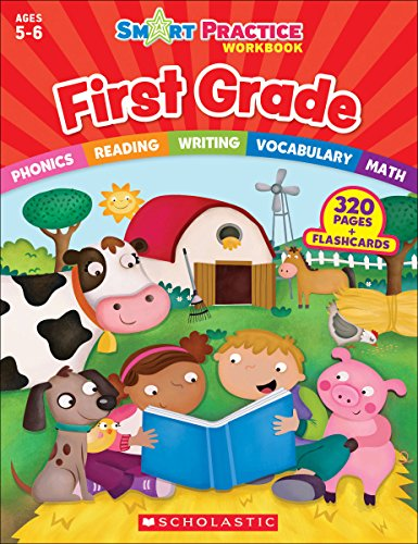 Smart Practice Workbook: First Grade (Smart Practice Workbooks)