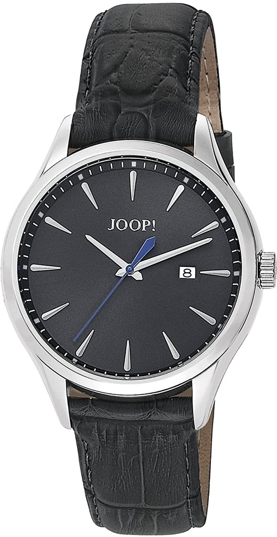 Joop Herren-Armbanduhr XL Composure Analog Quarz Leder JP100701F03
