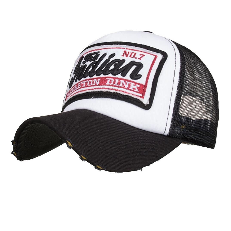 ☀ Gorras de Béisbol Casuales Unisex,Gorra de Verano Bordada Sombreros de Malla para Hombres Mujeres Sombreros Casuales Hip Hop Absolute (Armada): ...