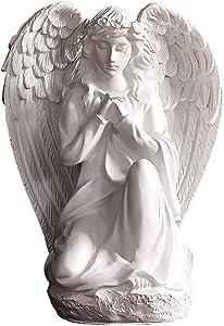 wsmart Guardian Angel Statue Shelf Living Room Bedroom Decor Figurines Blessing Husband Wife Friend Gifts