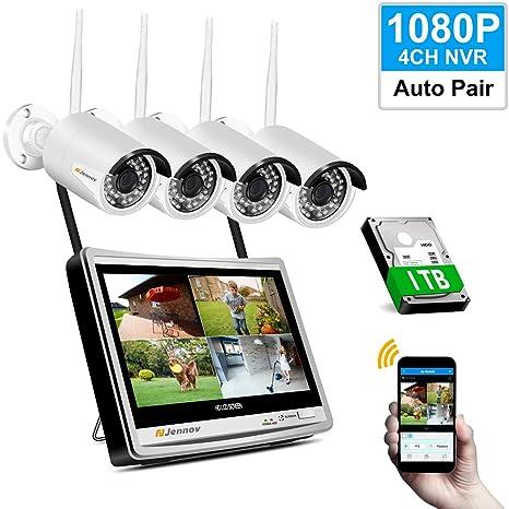 HIFI Funk Outdoor Außen Kamera IP Netzwerk Wlan WIFI Überwachungskamera Set IR