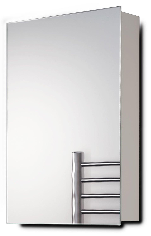 Diamond X Collection Alban Non-Illuminated Bathroom Mirror Cabinet k136