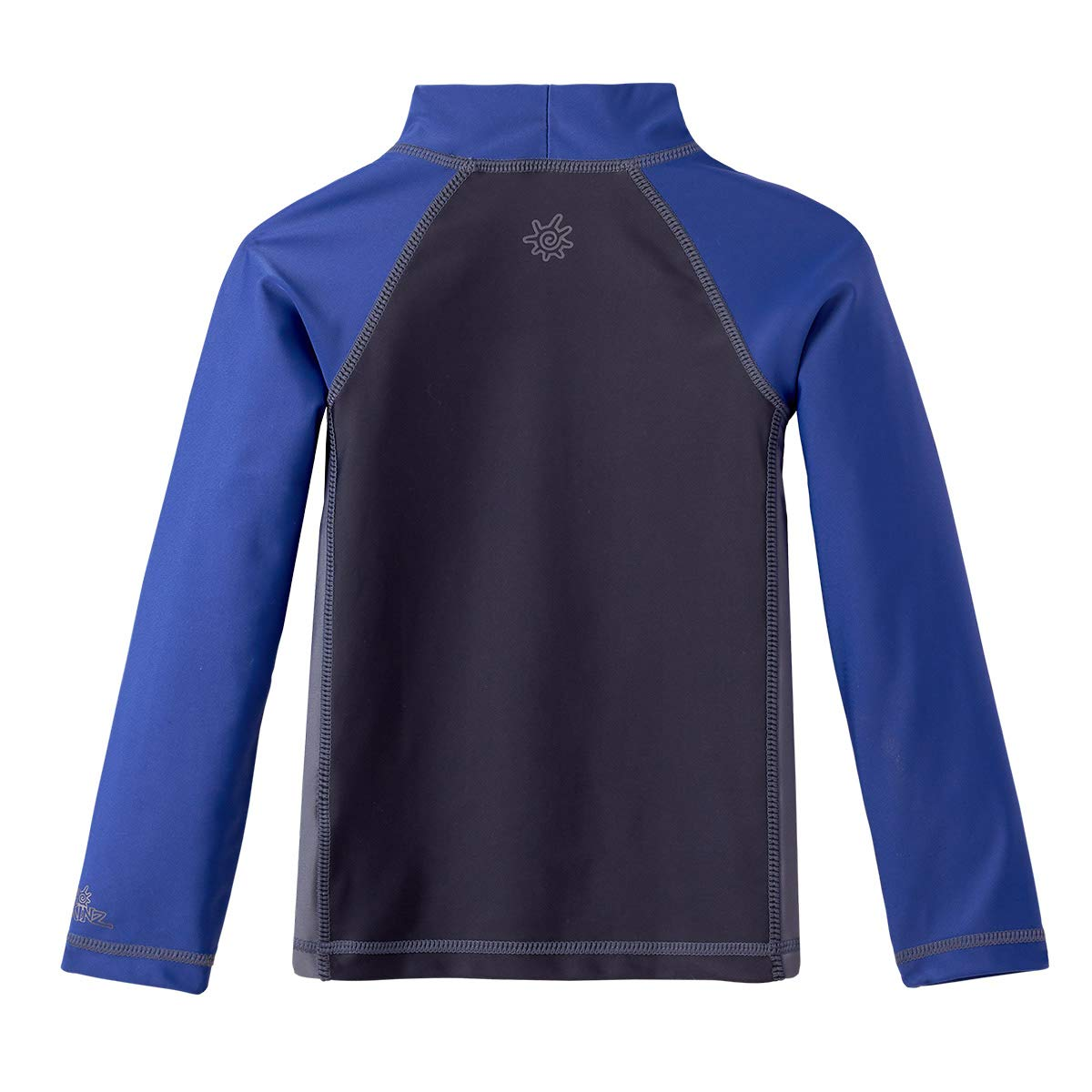 2T Boys Long Sleeve Active Sun /& Swim Shirt UV SKINZ UPF 50 Charcoal//Washed Navy