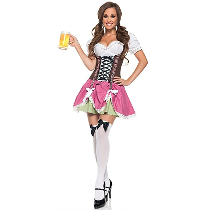 Amazon.com: MV Mujer cerveza para disfraces de niña traje de ...