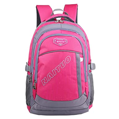 Amazon.com | Heavy Duty Strong Students Book Bag School Backpack ...