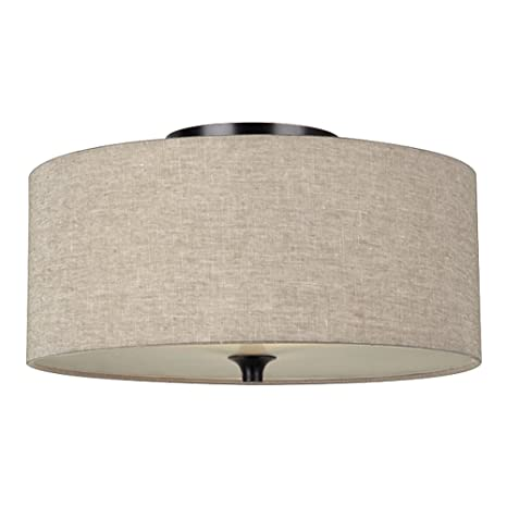 Sea gull lighting 75952 710 stirling two light flush mount ceiling sea gull lighting 75952 710 stirling two light flush mount ceiling light with satin aloadofball Image collections