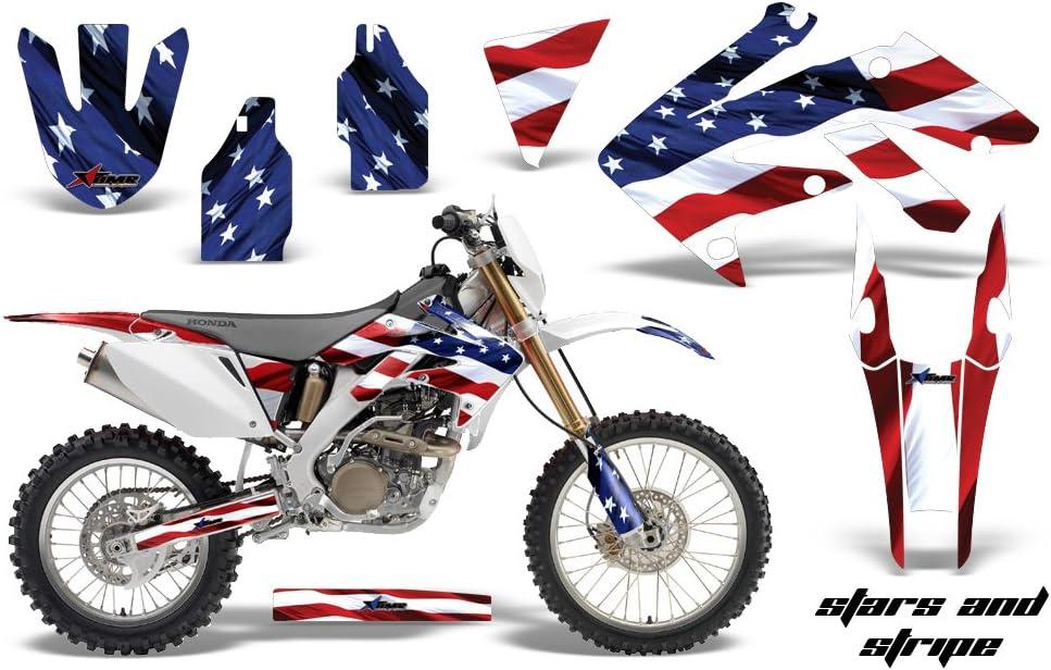 UFO Honda Motocross CRF 250X 2004-2008 Plastic Kit OEM colours