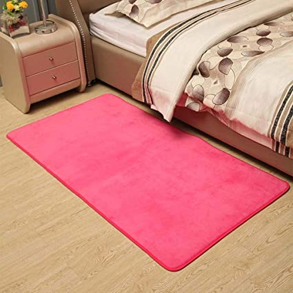 Amazon.com: FEFEFEF Yoga mat Thick Coral Velvet Bed Rug Full ...