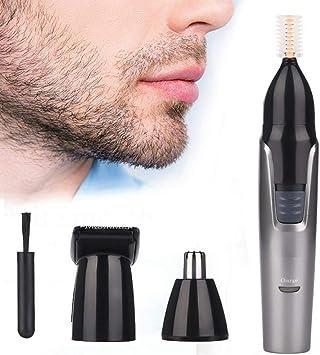 Depiladora Facial 3 en 1 recortador de nariz de oreja eléctrico ...