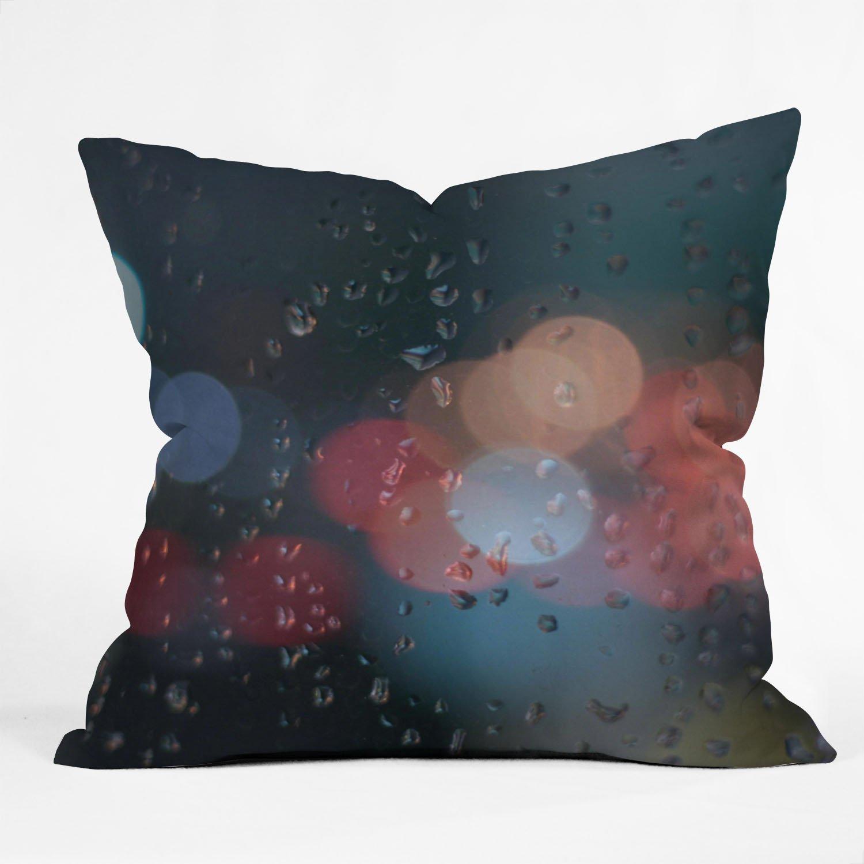 Deny Designs Leonidas Oxby August Rain Booo Keh Throw Pillow, 20 x 20