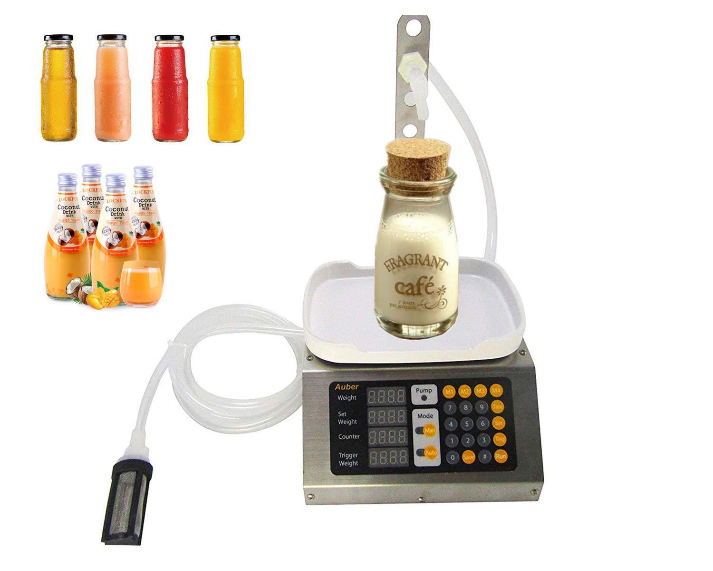KUNHEWUHUA 3 liters Automatic Liquid Filler Machine Pure Liquid Bottle Filler Machine for Beverage/Liquor/Vinegar/Milk/Perfum 110V by KUNHEWUHUA (Image #5)