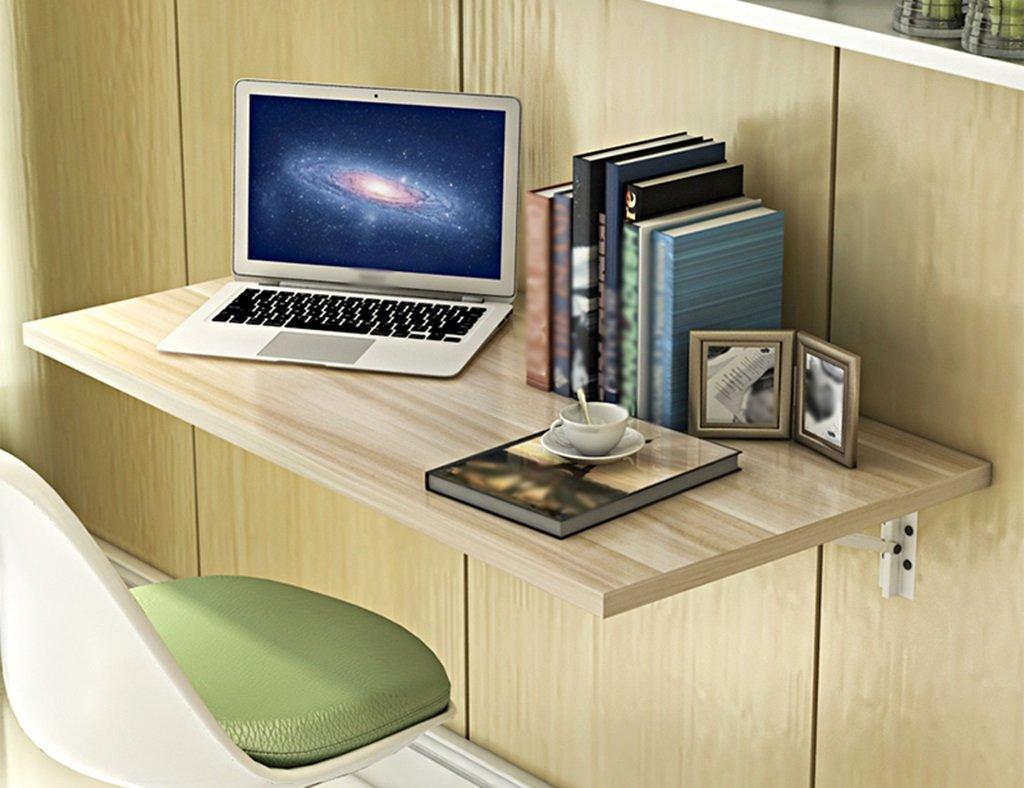 折り畳み式ダイニングテーブルオフィステーブルコンピュータデスク壁掛けラップトップデスク60 * 40cmラーニングテーブルカラー ( 色 : Shallow walnut ) B07996MTVX Shallow walnut Shallow walnut