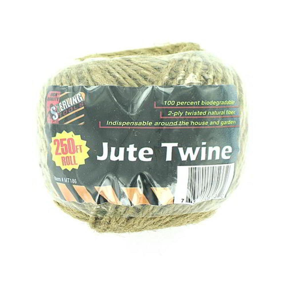 72 Natural fiber jute twine